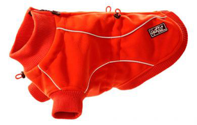 930421 Hurtta pro fleece jacketwaterprof Red