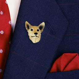 Australian Cattle Red Dog Pin