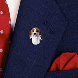 American Fox Hound Pin