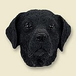 Dog magnets Labrador Svart