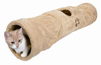 TX42991 Cat plush tunnel