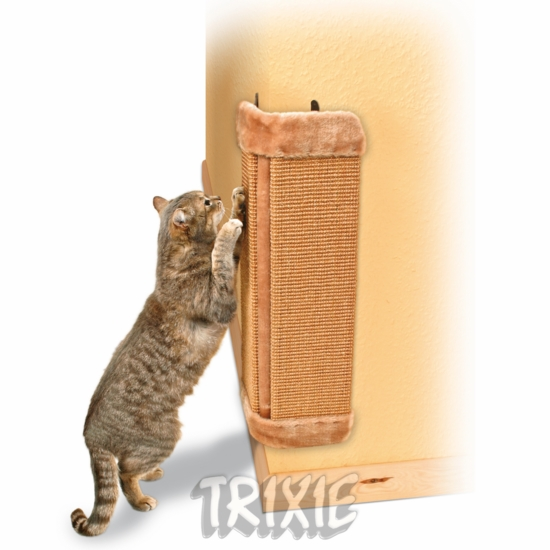 TX4343 Scratching post for corners, 32×60 cm, brown