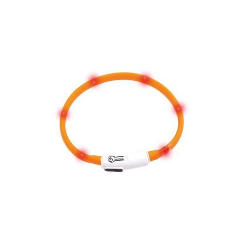 Reflexhalsband led Orange