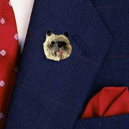 Cairn Terrier Red Pin