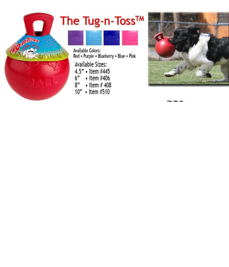 "Jolly Ball Hund ""Tug-n-Toss"""