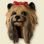 Dog magnets Yorkshire terrier